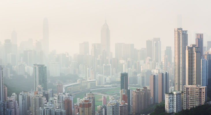 chinese-smog-city